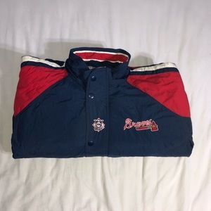 Vintage Starter Atlanta Braves Jacket